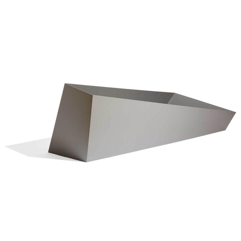 Edelstahl-Pflanzkübel / Aluminium / COR-TEN®-Stahl / modern ...