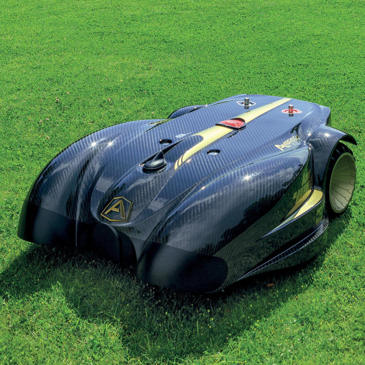 roboter-rasenmäher / elektrisch / für große flächen / für hanglagen