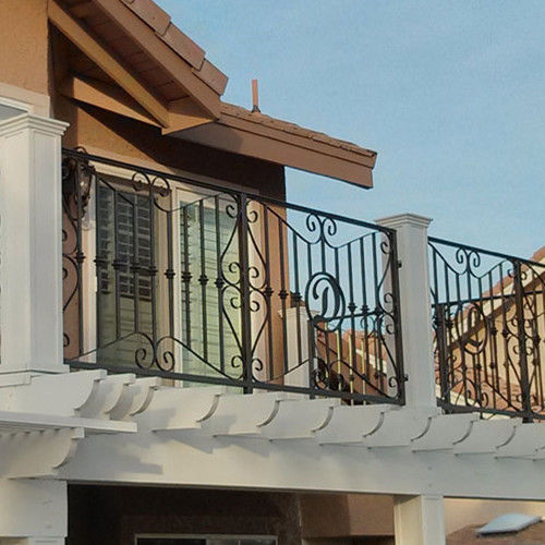 Balkon Mit Stangen Schmiedeeisen Sjz Shanzheng Co Ltd