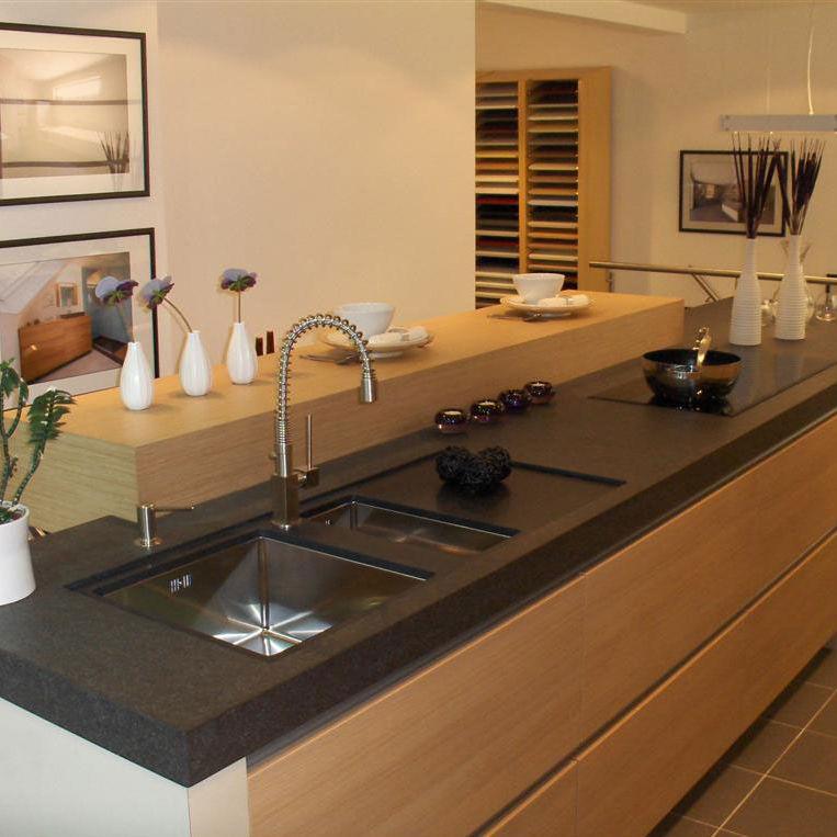 Steinarbeitsplatte / Küchen - NERO ASSUOLUTO ZIMBABWE - BELTRAMI NV