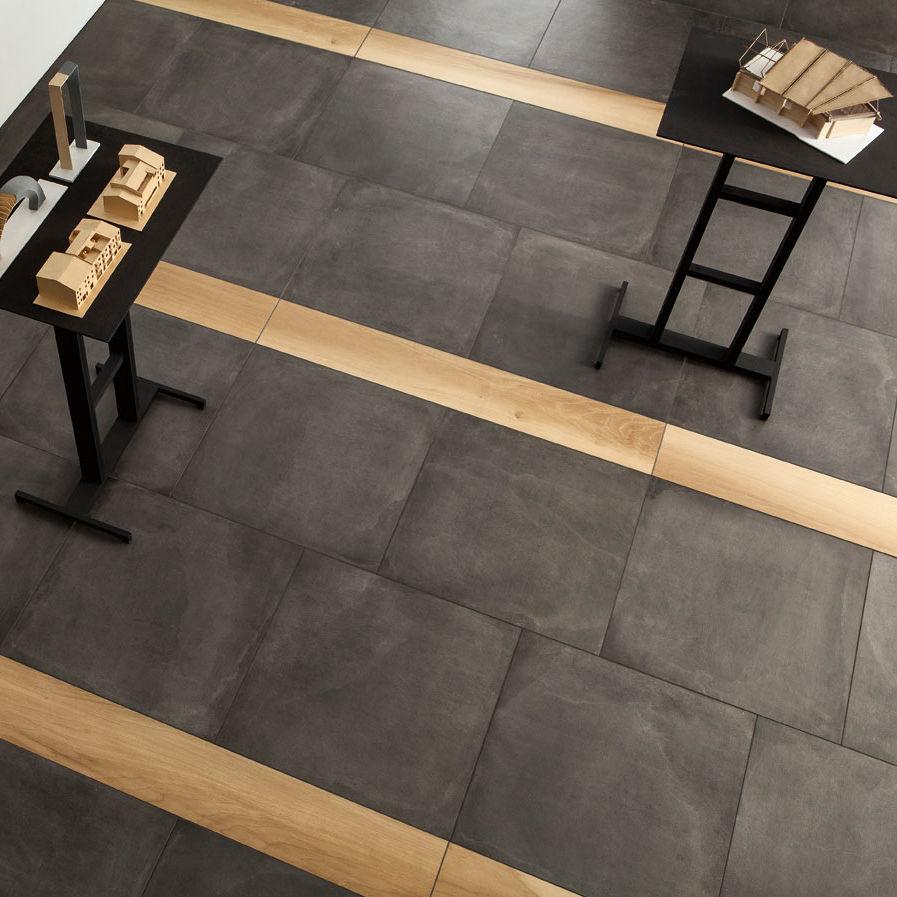 Fußboden fliesen  Fußboden-Fliesen / Feinsteinzeug / uni / poliert - ONE : GROUND ...