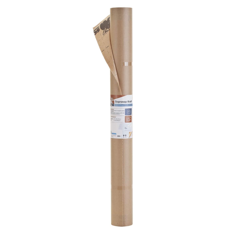 papier-dampfsperre / für dächer / für böden / für decken - sopravap