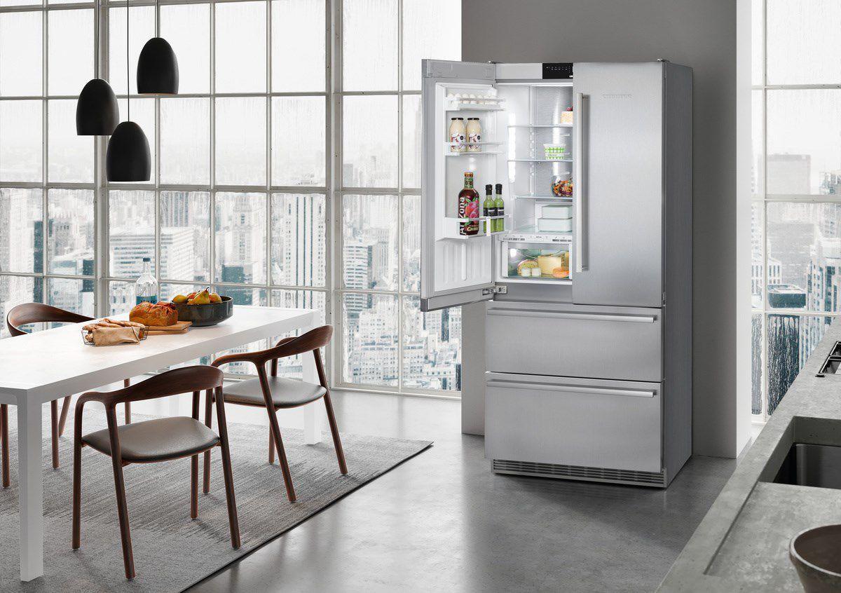 Kühlschrank Nofrost : Schrank kühlschrank schubladen grau edelstahl cbnes