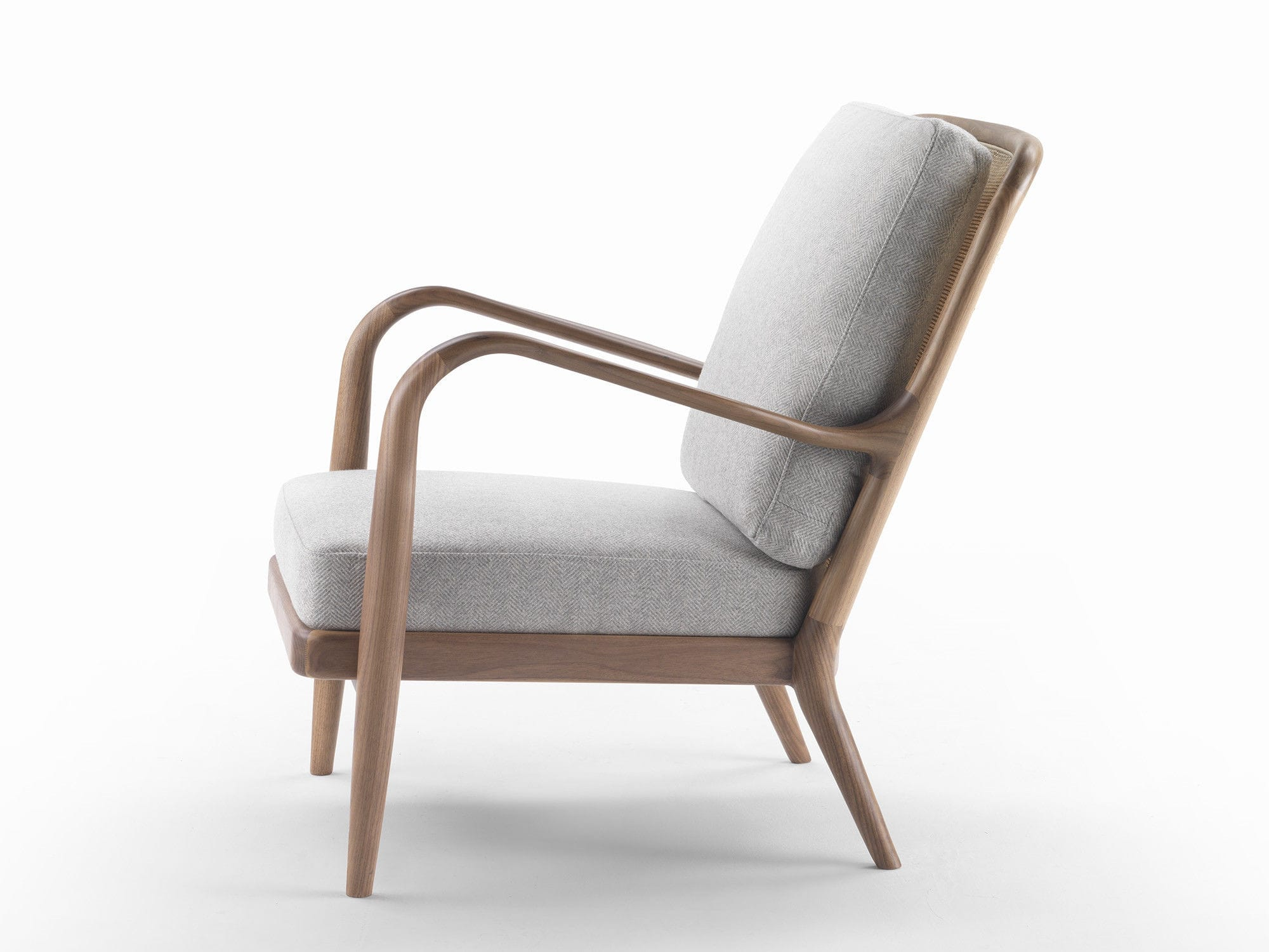 Geräumig Schmaler Sessel Beste Wahl Moderner / Stoff / Leder / Massivholz