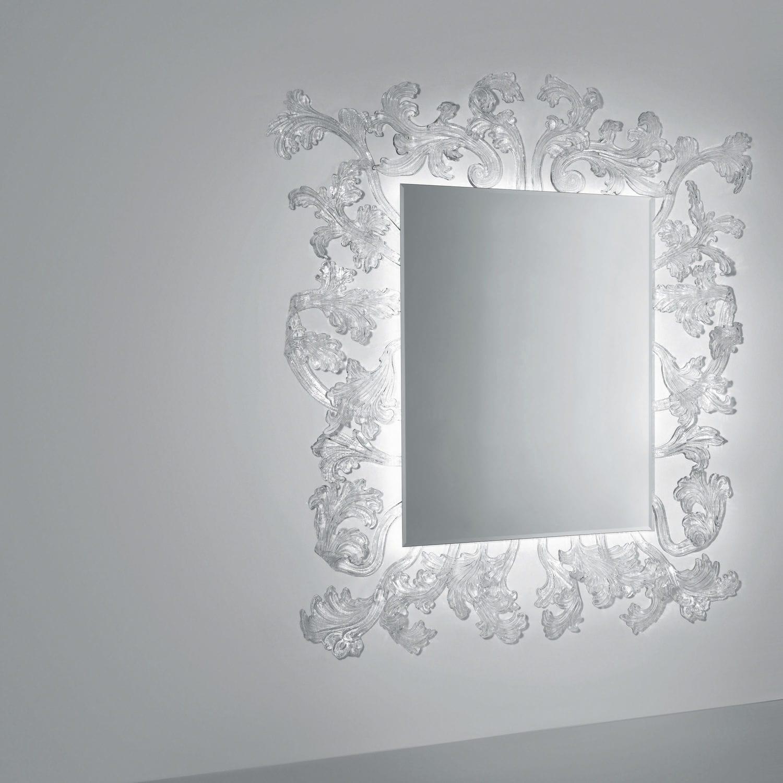 Wandmontierter Spiegel / modern / rechteckig / von Piero Lissoni ...