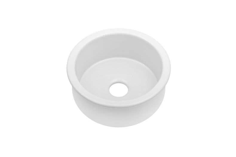 Spülbecken keramik rund  Spüle / 1 Becken / Keramik / rund - NANTUCKET : 085102 - JULIEN