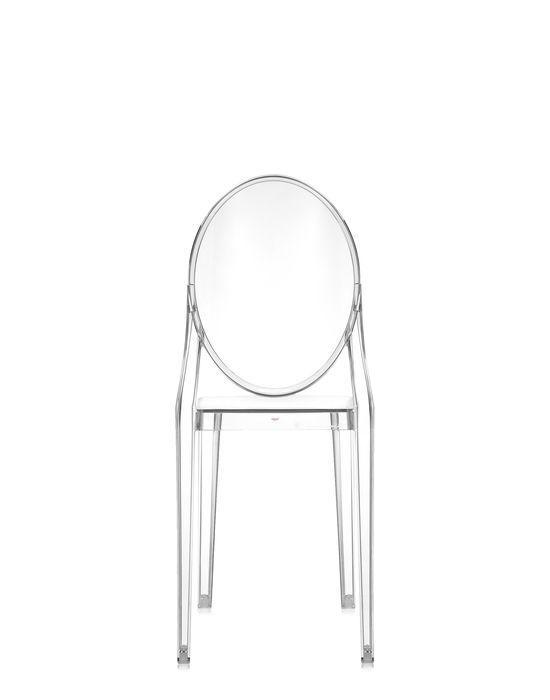 Moderner Stuhl / Stapel / Medaillon / aus Polycarbonat - VICTORIA ...