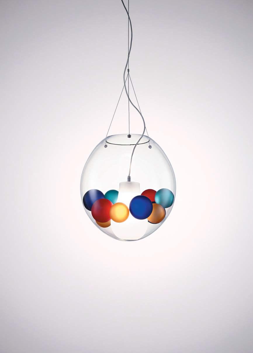 Hängelampe / modern / geblasenes Glas / aus Muranoglas - ASTRA S ...