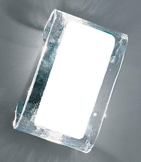 Moderne Wandleuchte / geblasenes Glas / aus Muranoglas / Glühlampen ...