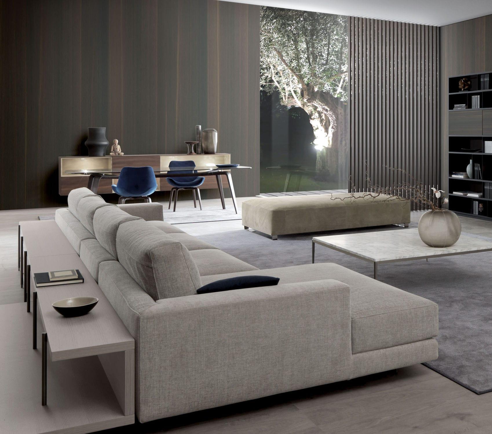 Sofa modern stoff  Modulierbares Sofa / modern / Stoff / von Mauro Lipparini - ARGO ...