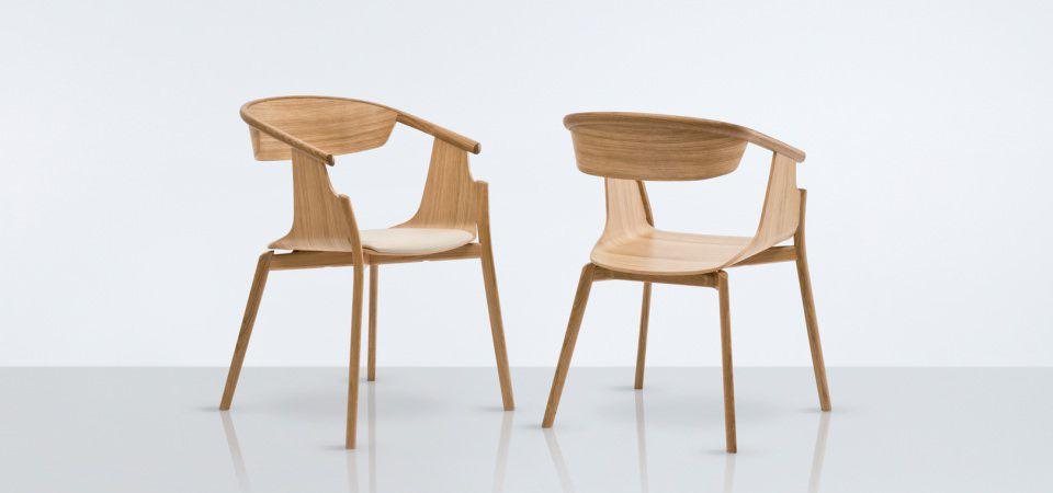 Uberlegen Stuhl / Skandinavisches Design / Holz ...