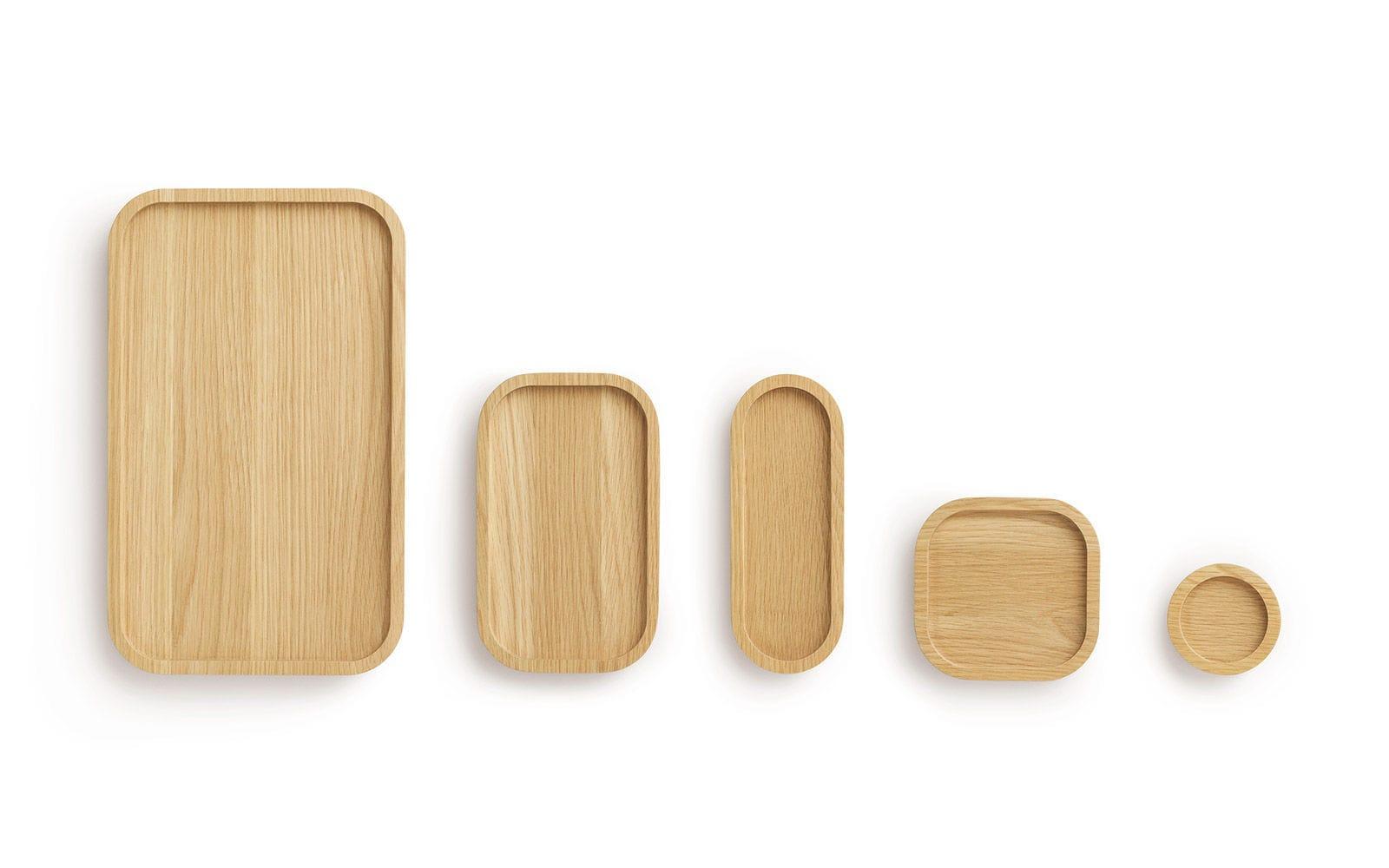 Tablett Holz Design serviertablett aus eiche für privatgebrauch astro by nestor