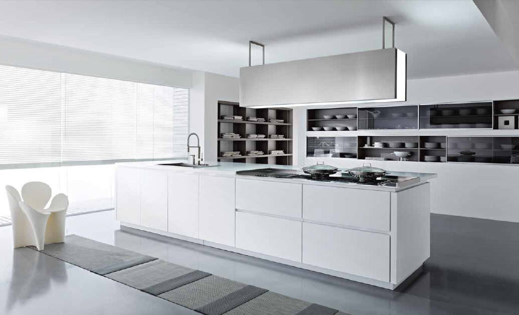 ... Moderne Küche / Laminat / Kochinsel DUNE Pedini ...