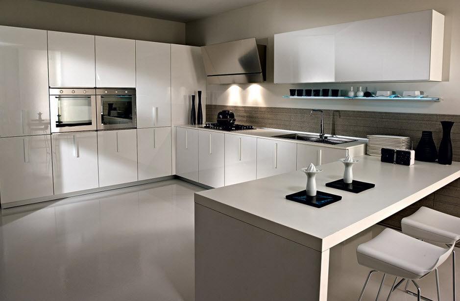 Moderne Küche / Glas / Lackiert MAGIKA Pedini ...