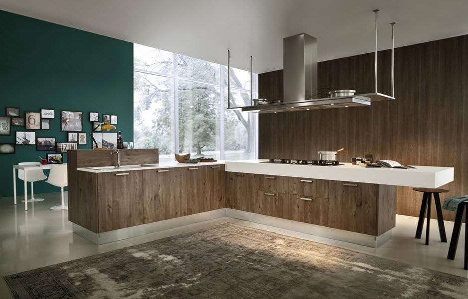 Moderne Küche / Laminat / Kochinsel   EKO