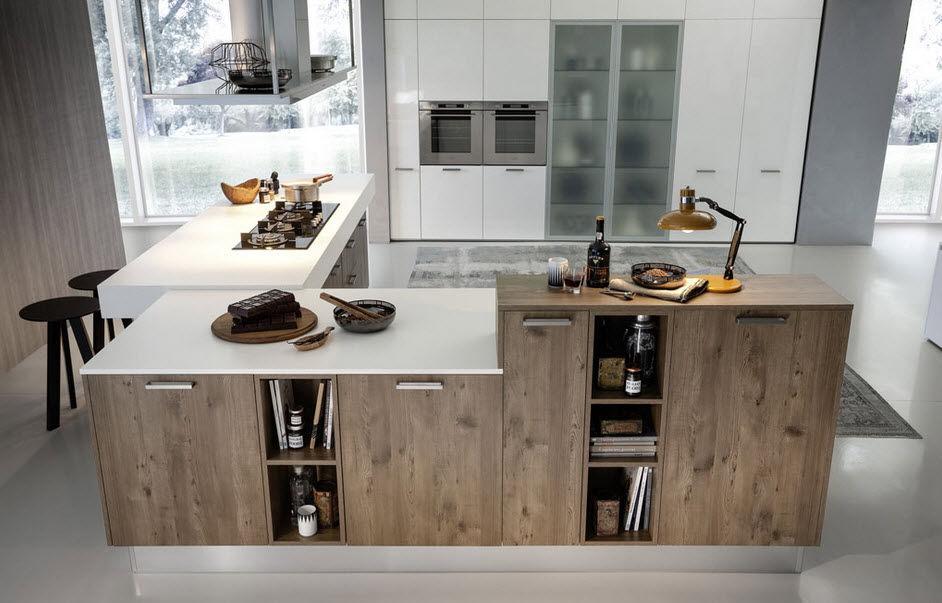 ... Moderne Küche / Laminat / Kochinsel EKO Pedini ...