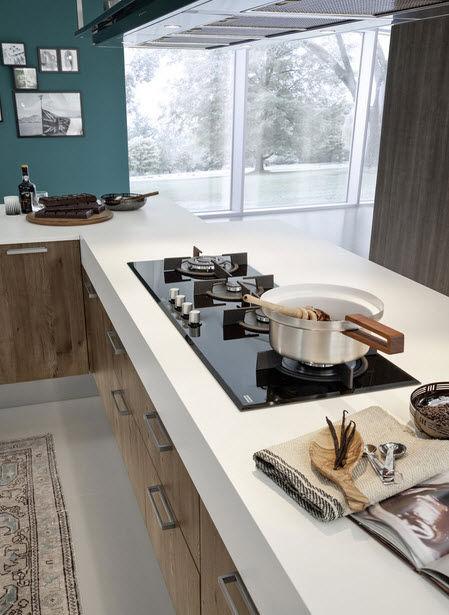 ... Moderne Küche / Laminat / Kochinsel EKO Pedini