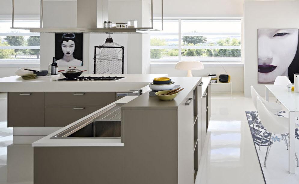 ... Moderne Küche / Laminat EKO Pedini ...
