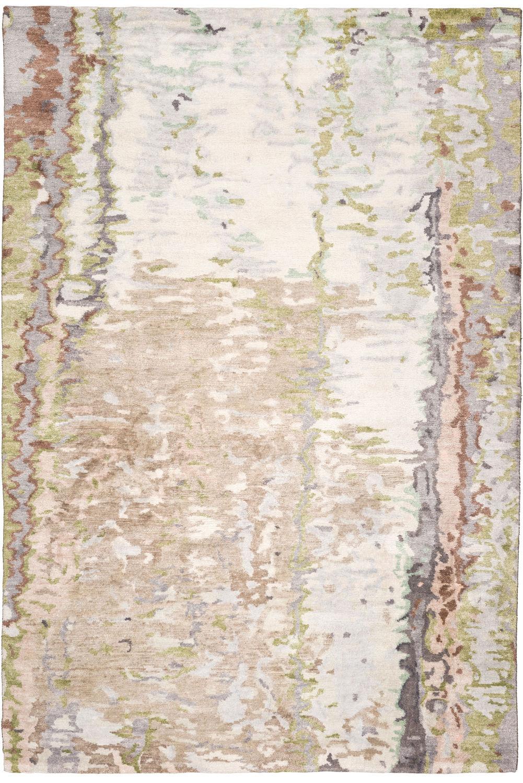 Moderner Teppich Motiv Seide Aus Bambus Tidal By David