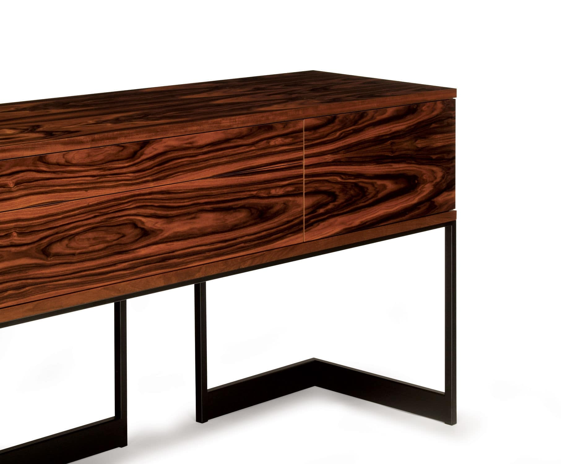 Sideboard nussbaum  Modernes Sideboard / Nussbaum / Metall / Esche - WISHBONE : W46 ...