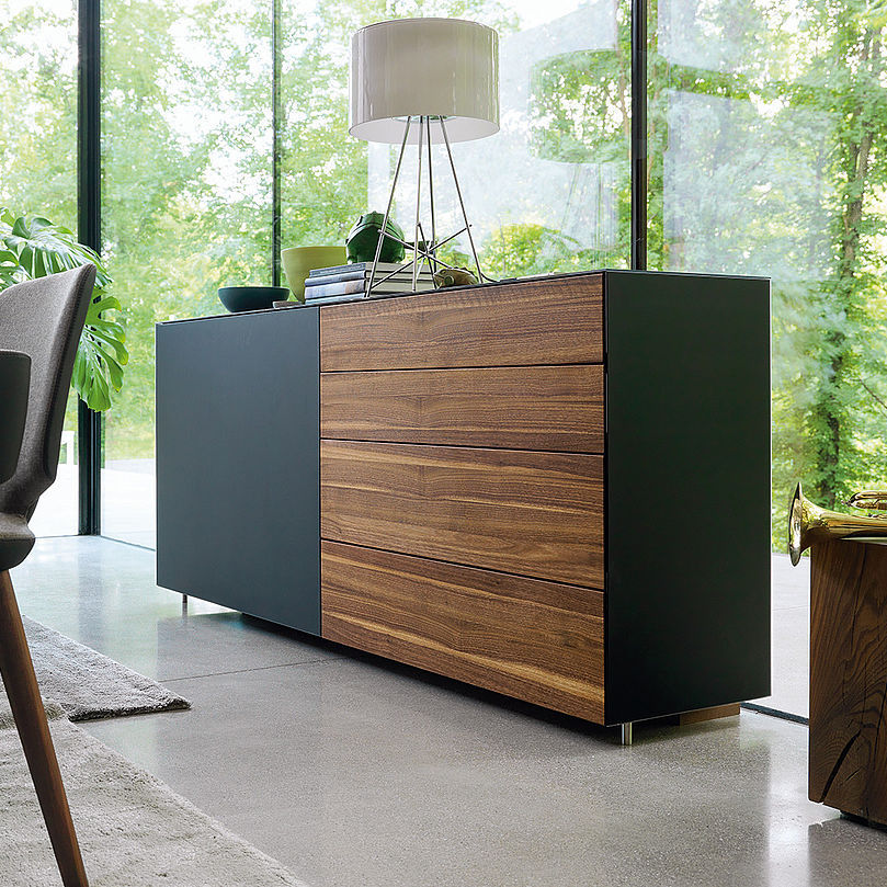 Modernes Sideboard Aus Eiche Cubus By Karl Auer Team 7 Videos