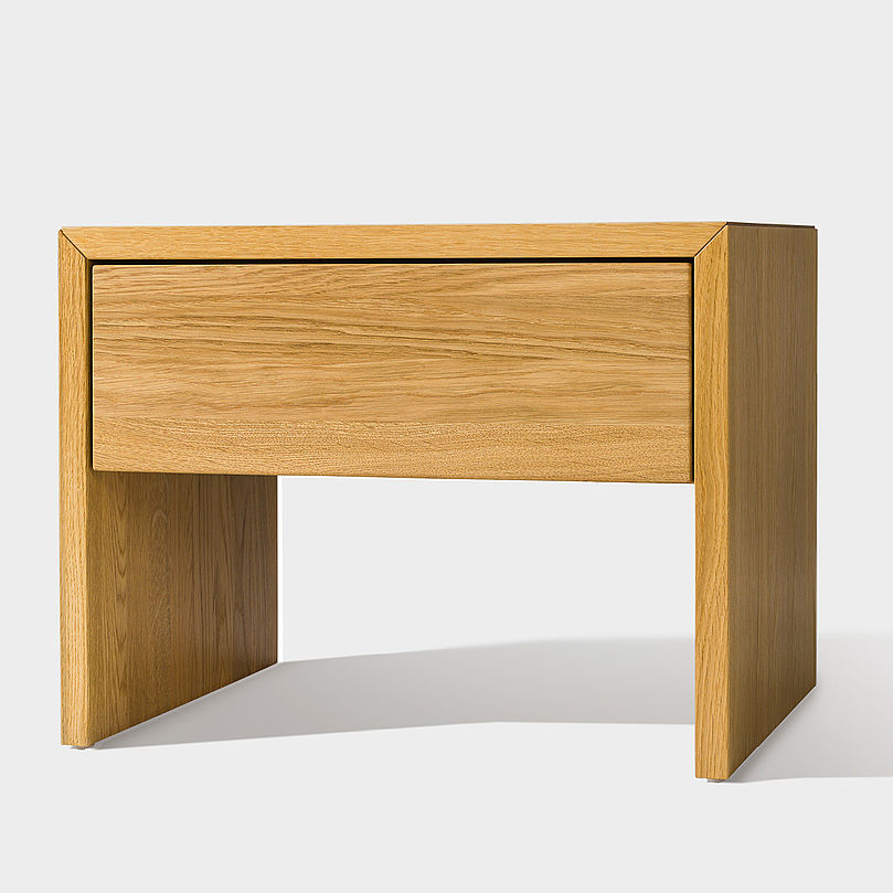 Affordable Moderner Nachttisch Aus Eiche Nussbaum Aus Buche Lunetto With  Nachttisch Nussbaum