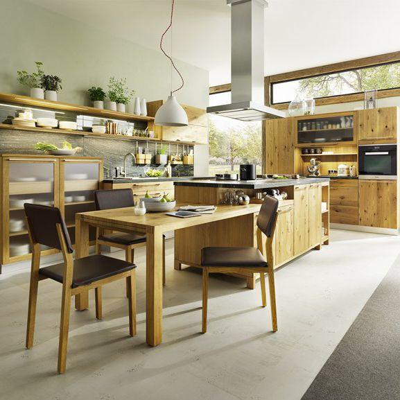 Moderne Küche / Stein / aus Ahorn / aus Kirschbaum - LOFT - TEAM 7 ...