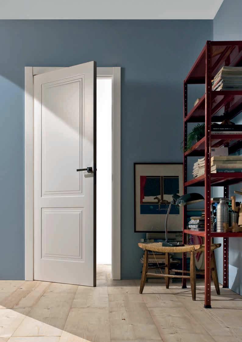 Innenbereich-Tür / einflügelig / Holz / lackiert - RADAR DECOR - TRE ...