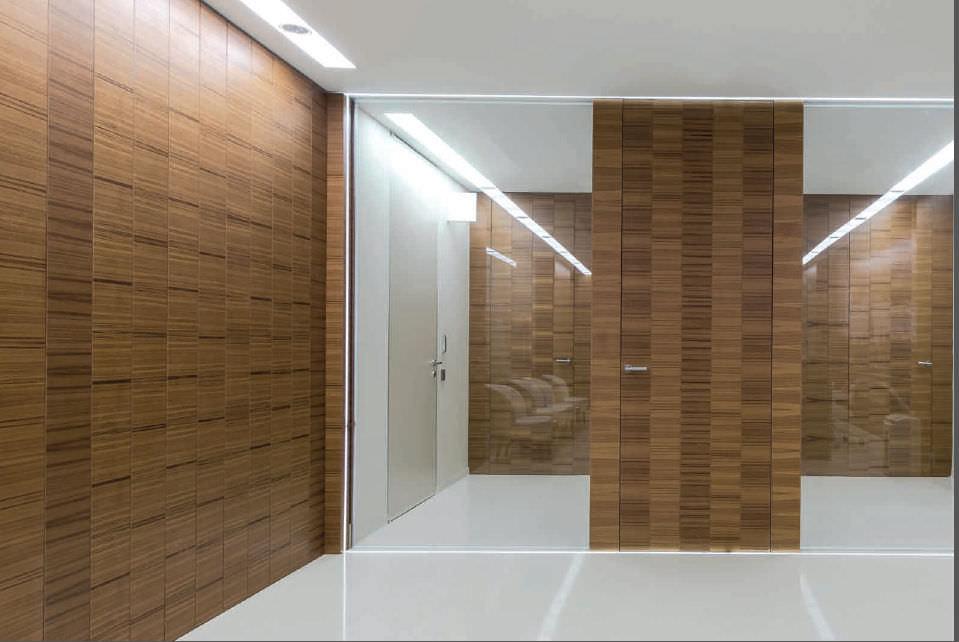 Innenbereich-Tür / einflügelig / Holz - CONTINUUM by Antonio ...