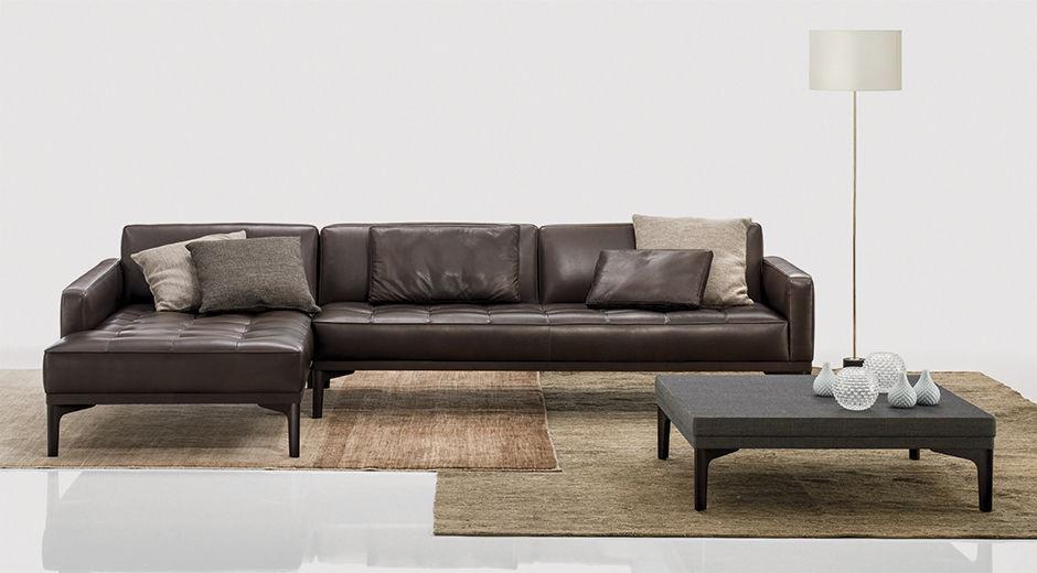 Modulierbares Sofa Eck Modern Stoff Joyce By Soda Designers