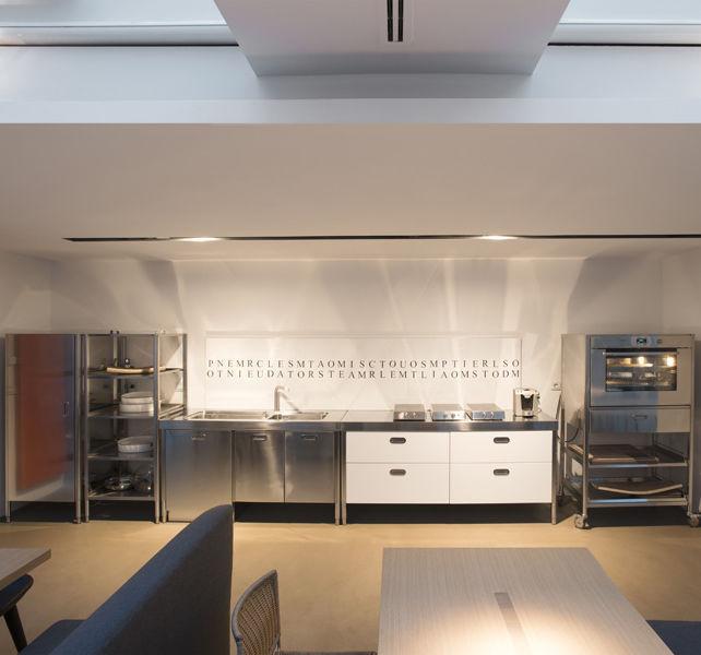 GroBartig Moderne Küche / Lackiertes Holz / Edelstahl / Matt   COMBINED 190 (2)