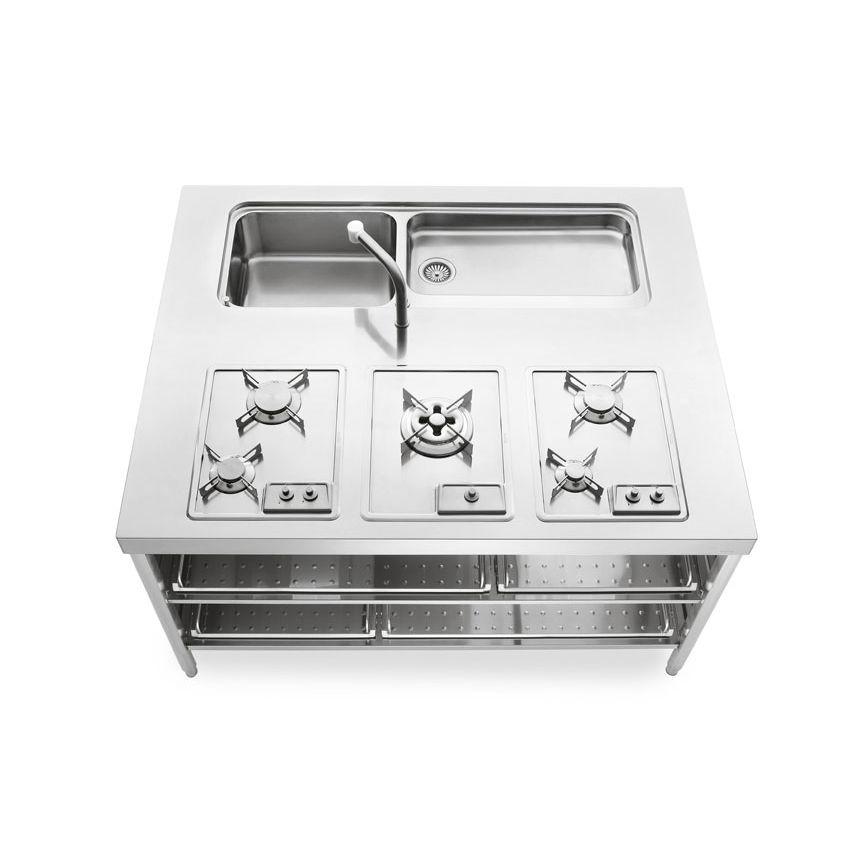 Kücheninsel - UNIT 160 - ALPES-INOX