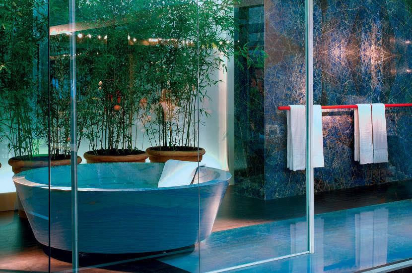 Innenraum Fliesen Fur Badezimmer Boden Aus Naturstein Azul