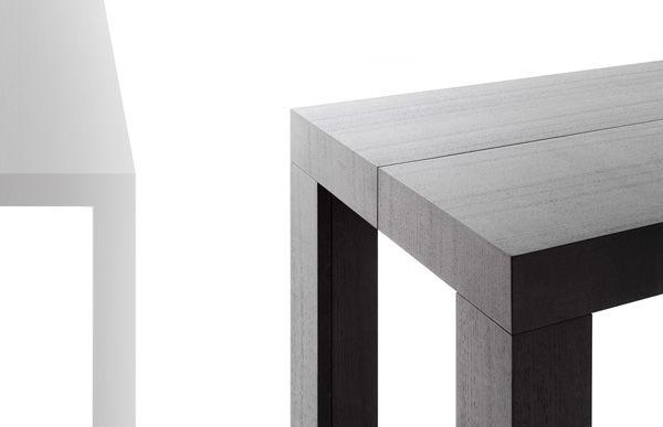 moderne konsolentisch / rechteckig / für innenbereich / auszieh, Esstisch ideennn