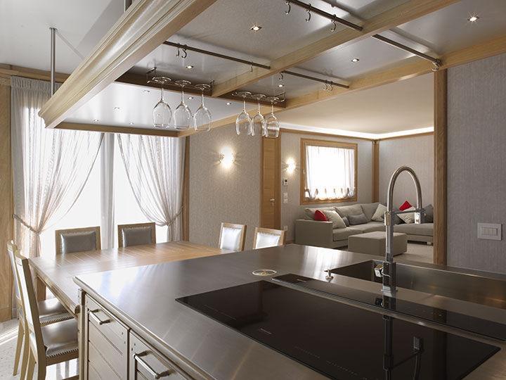 ... Moderne Küche / Holz / Edelstahl / Aus Eiche BAMBOO BRUMMEL