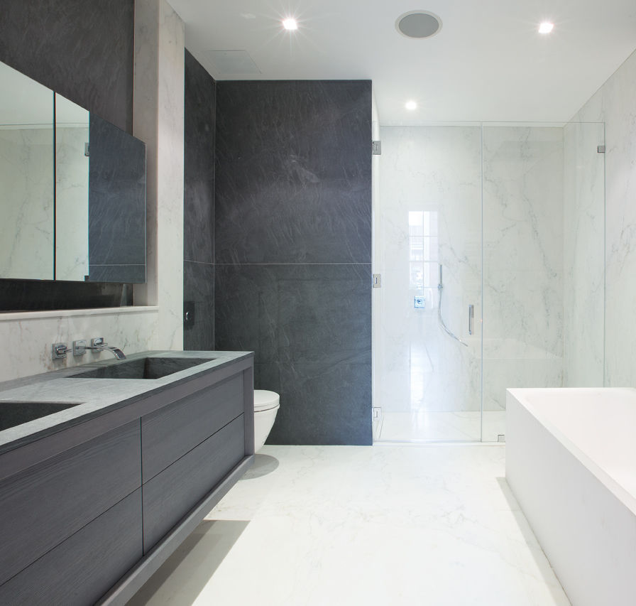 Modernes Badezimmer / Holz - 53 GREENE STREET - GD Arredamenti