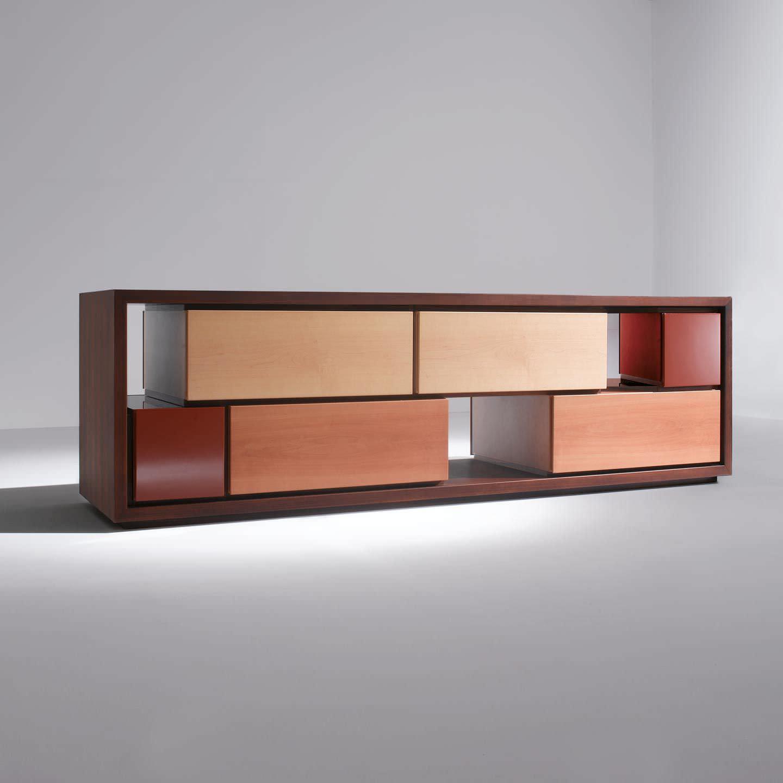 Sideboard holz design  Modernes Sideboard / Holz / lackiertes Holz - MAXIMA : BD 09 by ...