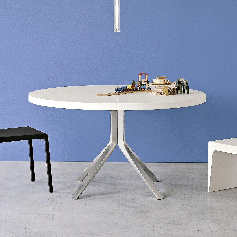 Moderner Tisch / aus MDF / Aluminium / rund - OOPS by Monica Graffeo ...
