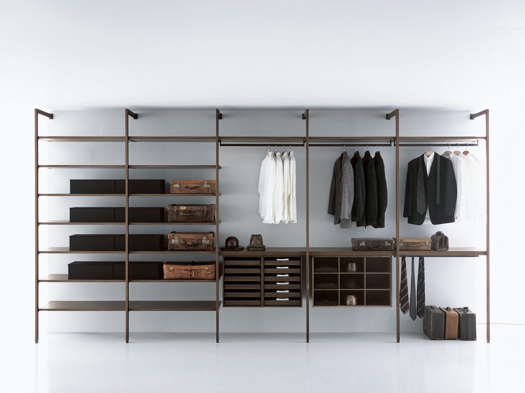 Moderner Begehbarer Kleiderschrank Holz Nach Mass High End Porro