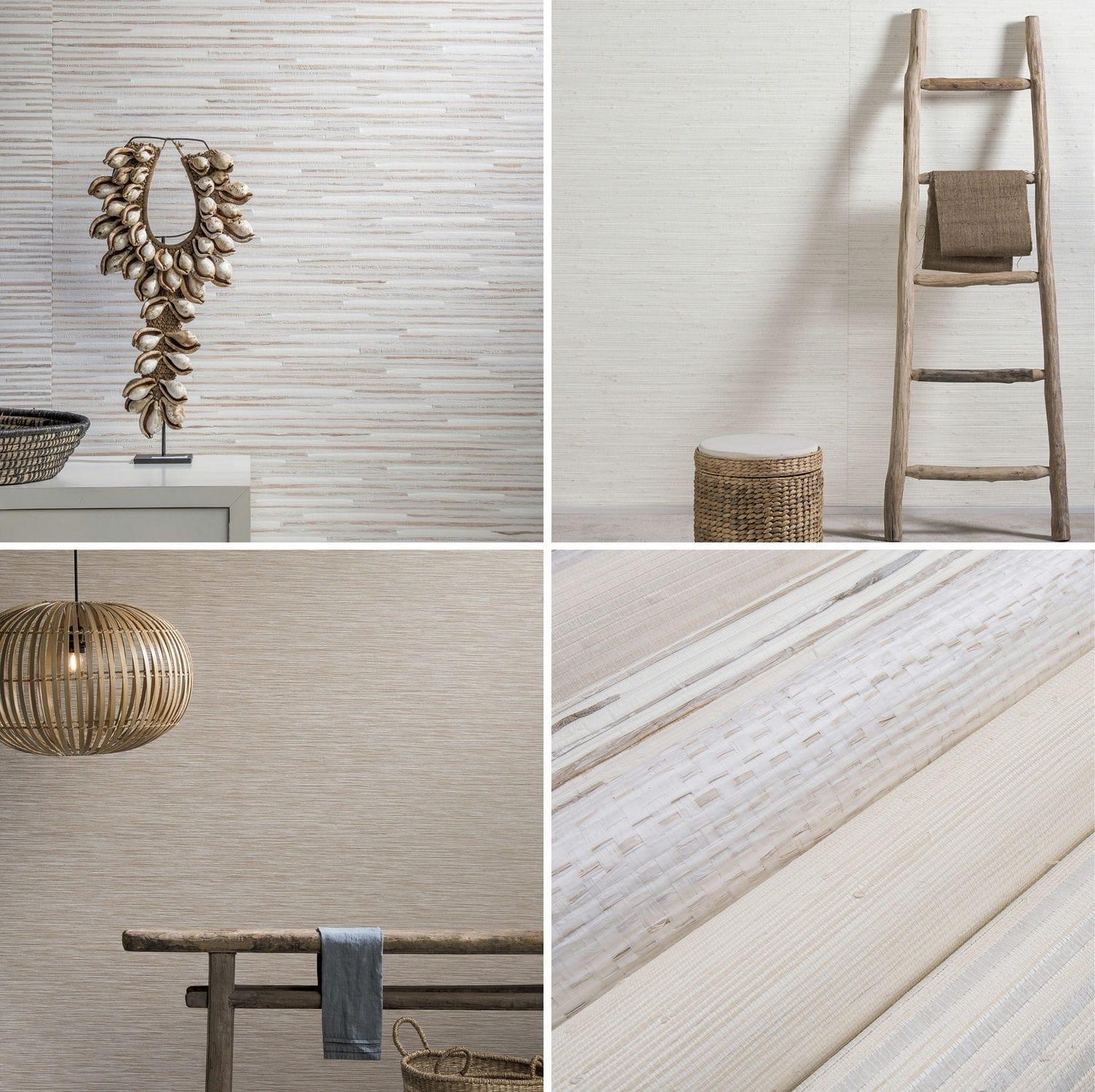 Leinen Wandverkleidung Viskose Aus Bambus Aus Naturfaser