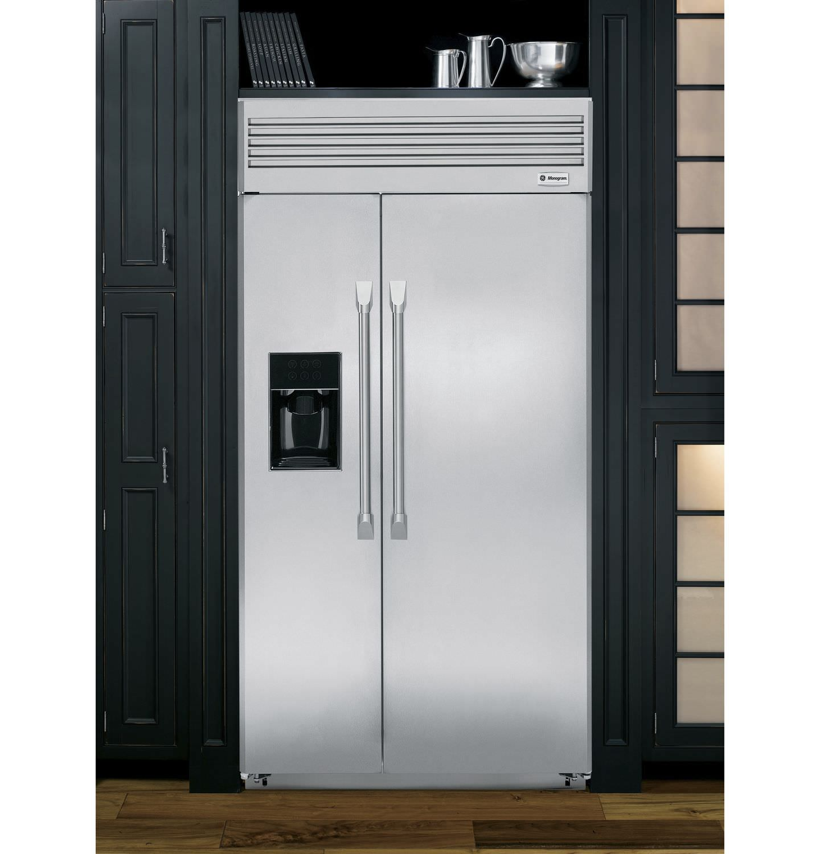 Kühlschrank Einbau amerikanisch kühlschrank edelstahl öko einbau zisp420dxss