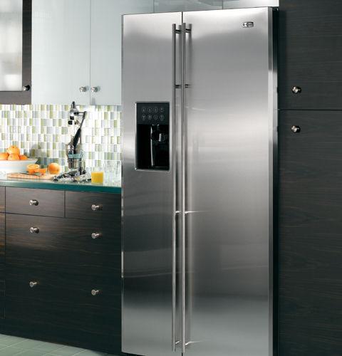 Amerikanisch-Kühlschrank / Edelstahl - ZFSB25DXSS - Monogram