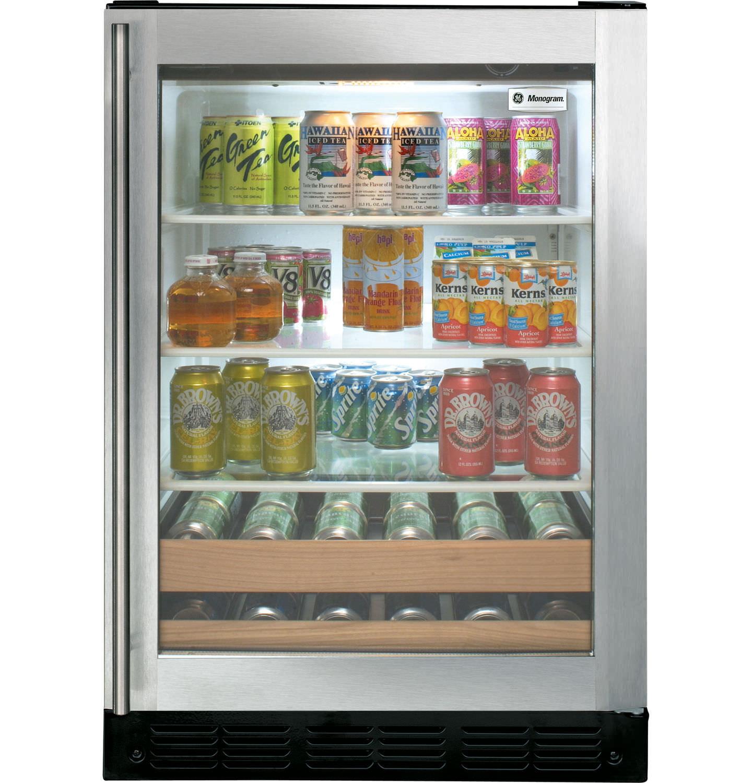 Objektmöbel-Getränkekühlschrank / Einbau - ZDBR240PBS - Monogram