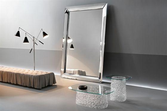 wandmontierter spiegel / modern / rechteckig / wohnzimmer - caadre ... - Wohnzimmer Spiegel Modern