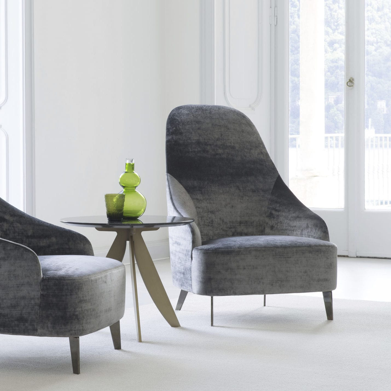 Wunderschön Sessel Hohe Lehne Referenz Von Moderner / Stoff / Leder / Hochlehner
