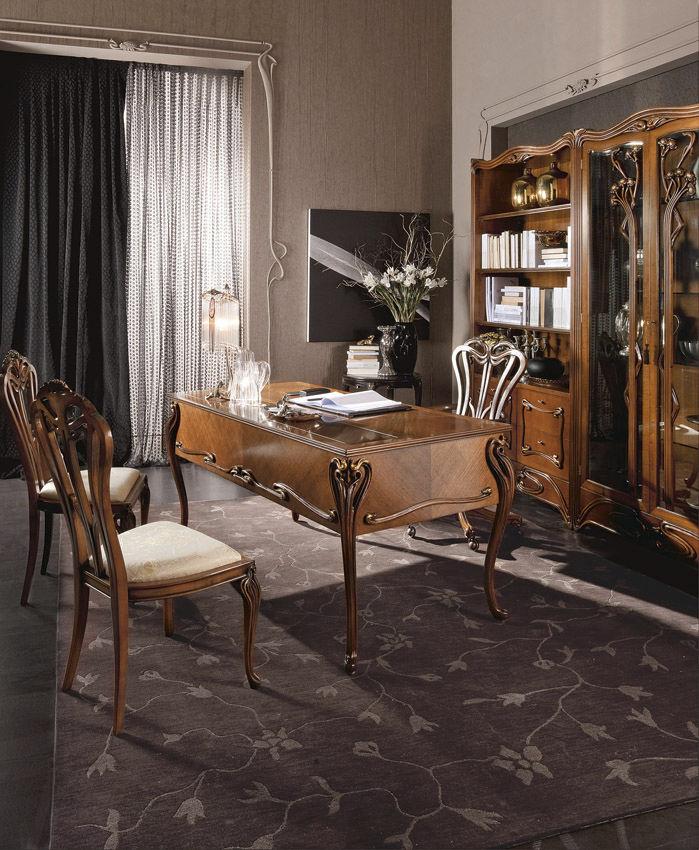 Multimedia-Schreibtisch / Holz / Stil - LIBERTY - MEDEA