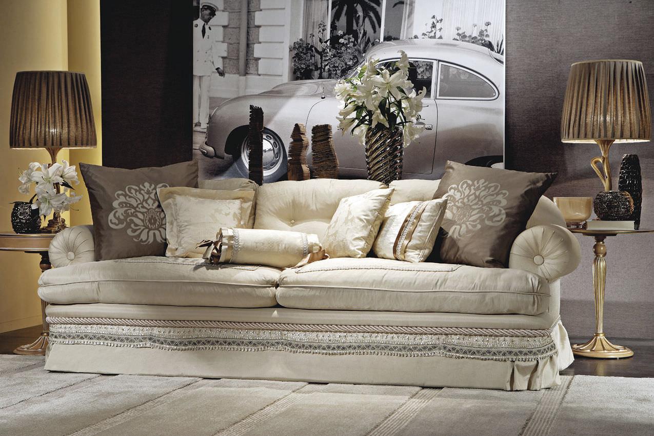 Klassisches Sofa klassisches sofa seide 3 plätze mehrfarbig prestige medea