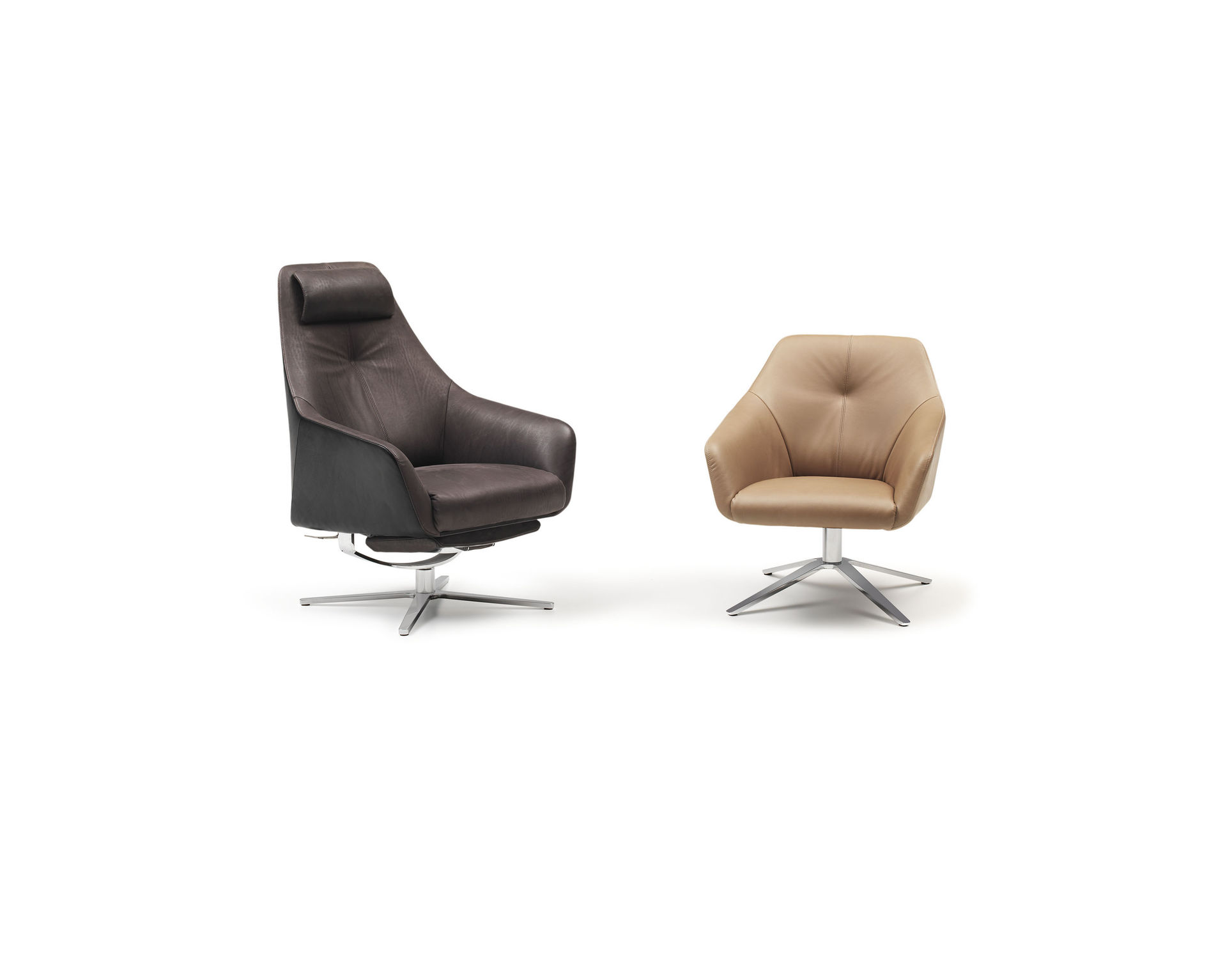 De Sede Sessel ~ Pair of high quality s de sede ds leather lounge chairs