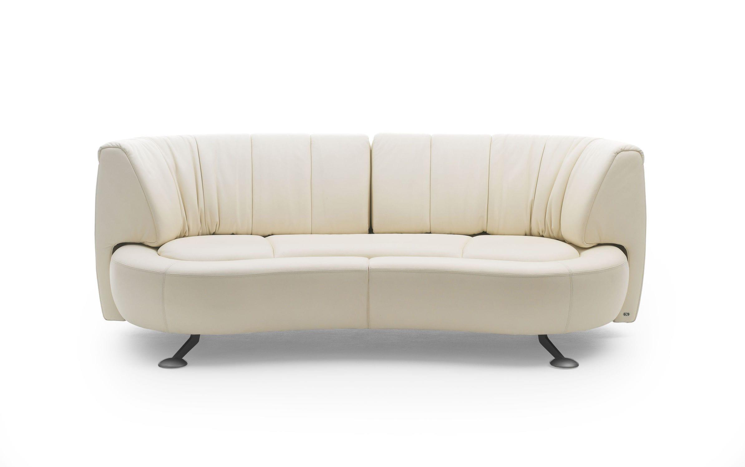 Sofa halbrund  Modulierbares Sofa / halbrund / modern / Leder - DS-164 by Hugo de ...