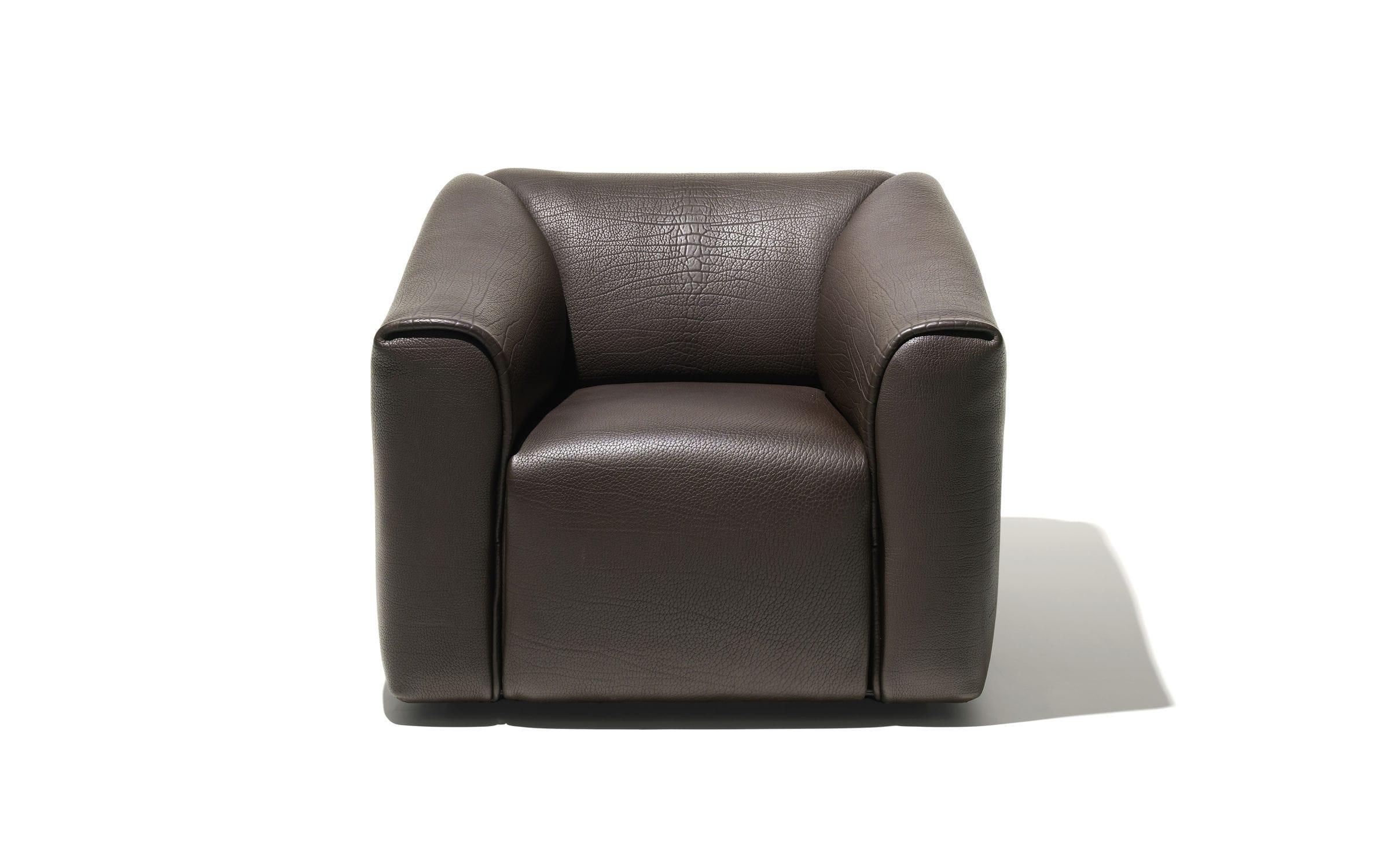 Sessel modern leder schwarz  Moderner Sessel / Leder / schwarz / braun - DS-47 - de Sede AG